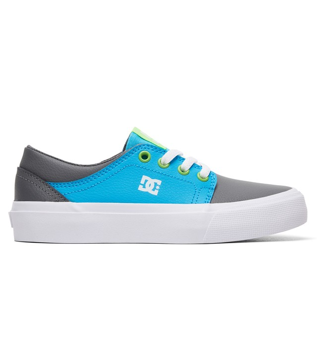 0 Boy's 8-16 Trase SE Shoes Grey ADBS300264 DC Shoes