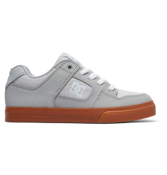 0 Boy's Pure Shoes Grey ADBS300267 DC Shoes