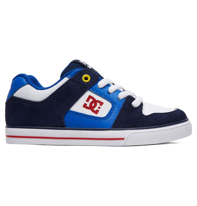 0 Boy's 8-16 Pure Shoes Blue ADBS300267 DC Shoes