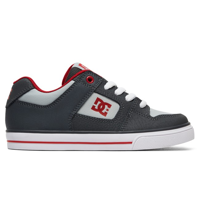 0 Pure - Shoes for Boys Gray ADBS300267 DC Shoes