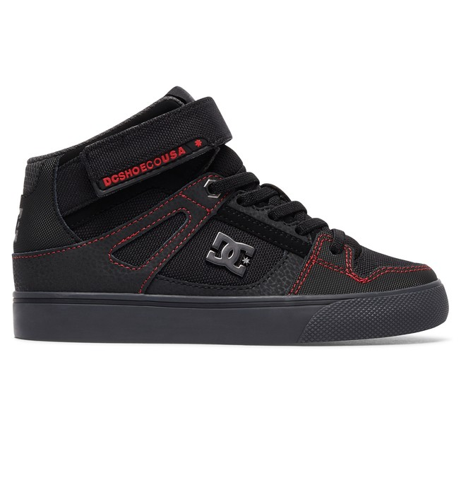 0 Pure High SE EV - High-Top Elastic-Laced Shoes for Boys  ADBS300270 DC Shoes