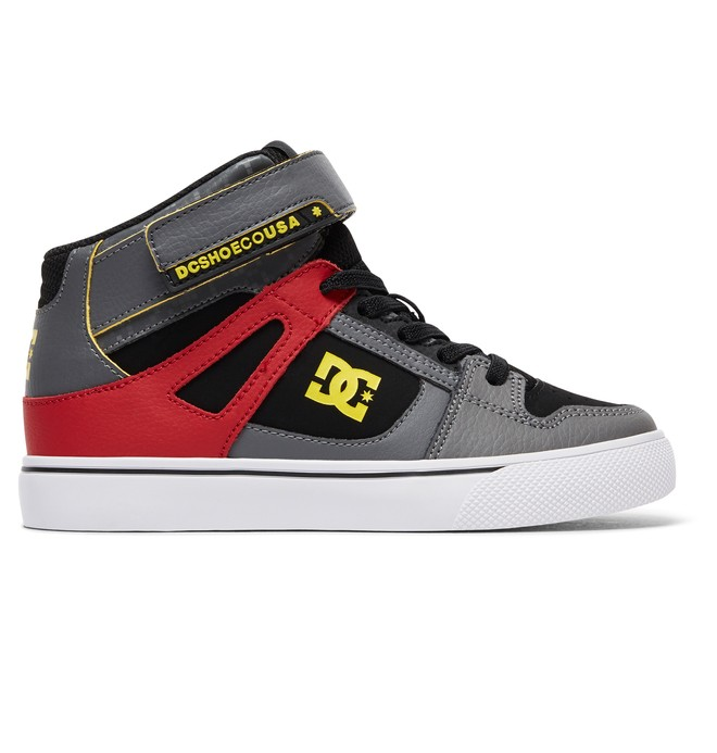 0 Kid's Spartan High SE EV High Top Shoes  ADBS300270 DC Shoes