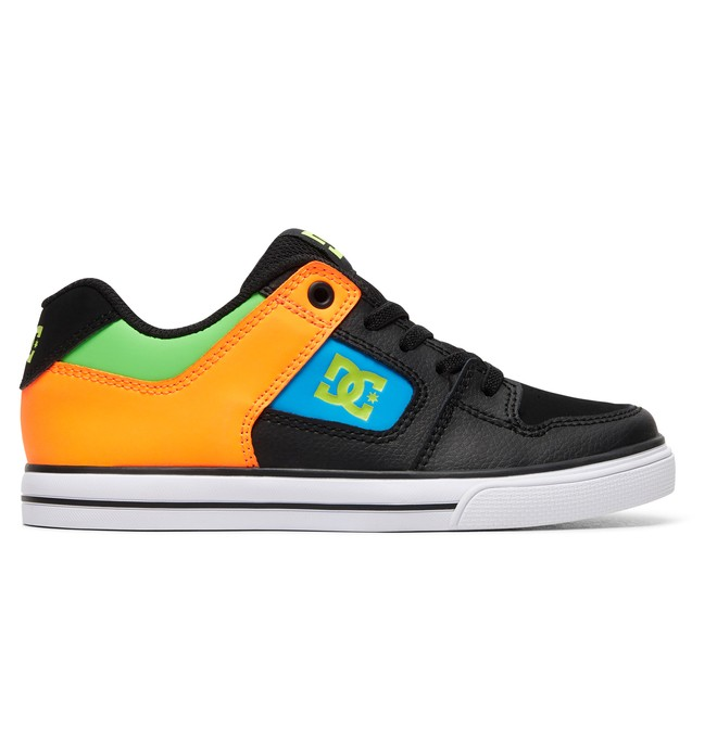 0 Boy's 8-16 Pure SE Shoes Black ADBS300273 DC Shoes