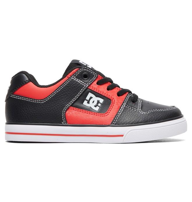 0 Boy's 8-16 Pure SE Shoes Black ADBS300273 DC Shoes