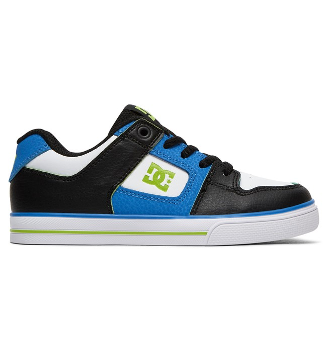 0 Pure Elastic SE - Elastic-Laced Shoes for Boys Blue ADBS300273 DC Shoes
