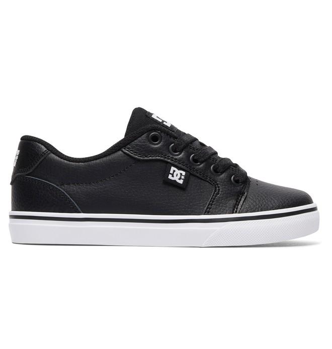 0 Kid's Anvil SE Shoes Black ADBS300279 DC Shoes