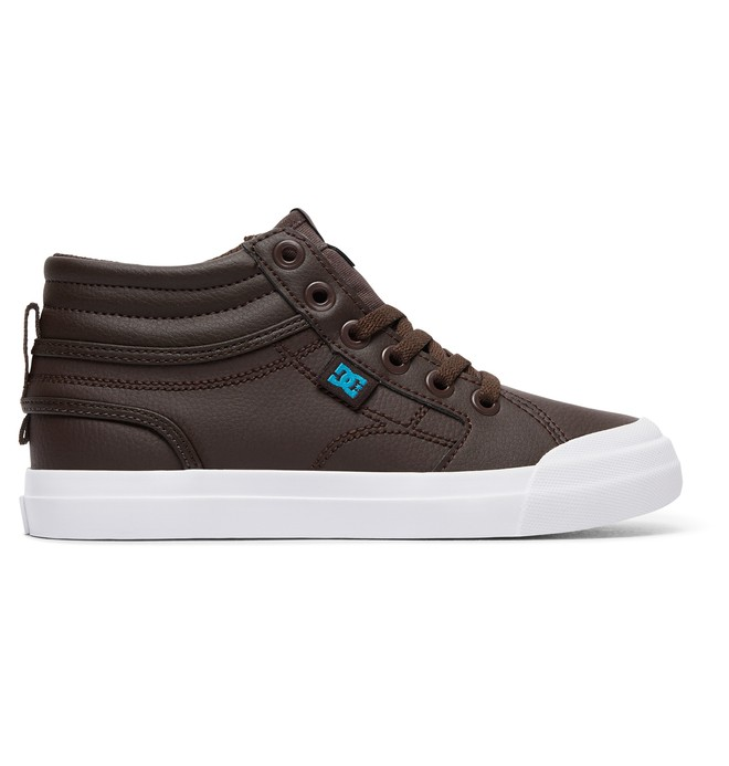 0 Kid's Evan Hi SE High-Top Shoes  ADBS300289 DC Shoes