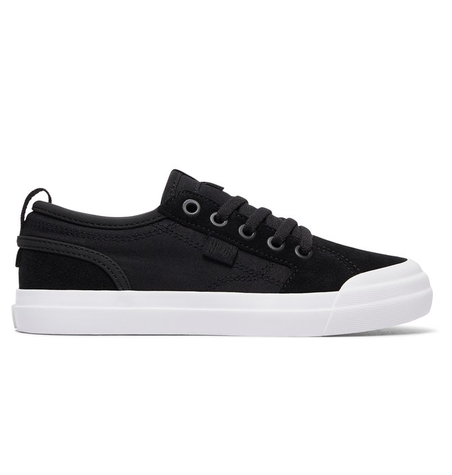 0 Boy's 8-16 Evan Shoes Black ADBS300290 DC Shoes