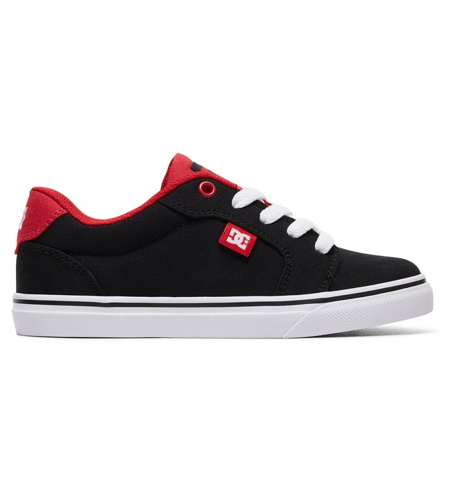 0 Boy's 8-16 Anvil TX Shoes Black ADBS300296 DC Shoes
