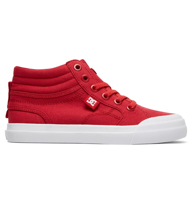 0 Evan Hi TX - High-Top Shoes for Boys Red ADBS300303 DC Shoes