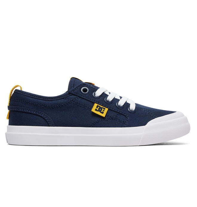 0 Kid's Evan TX Shoes Blue ADBS300304 DC Shoes