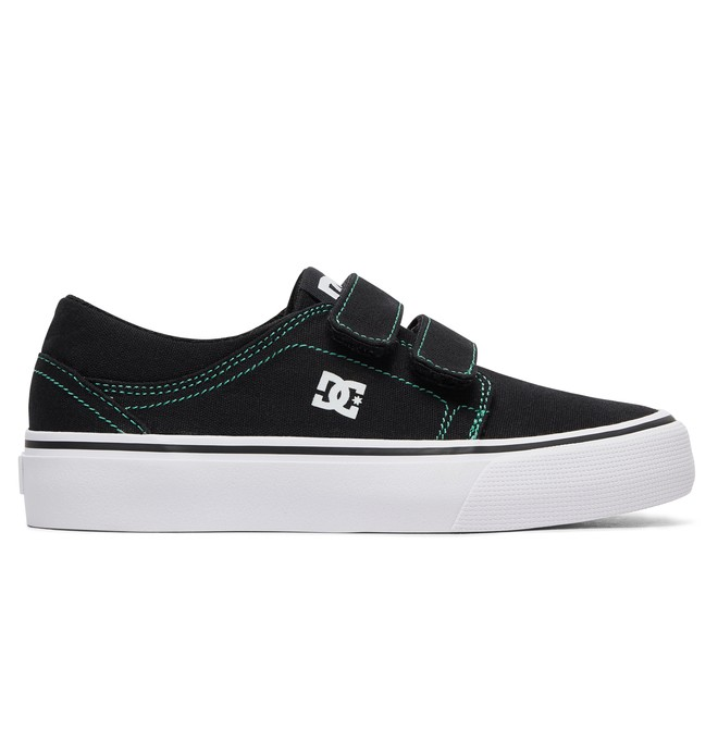 0 Boy's 8-16 Trase V TX Shoes Black ADBS300312 DC Shoes