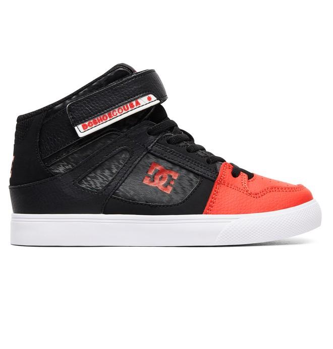 0 Boy's 8-16 Pure High EV High-Top Shoes Black ADBS300324 DC Shoes