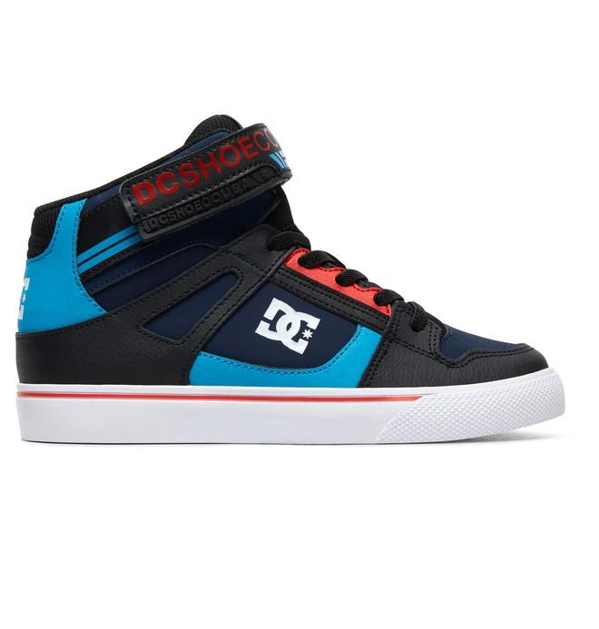 0 Boy's 8-16 Pure High EV High-Top Shoes Blue ADBS300324 DC Shoes