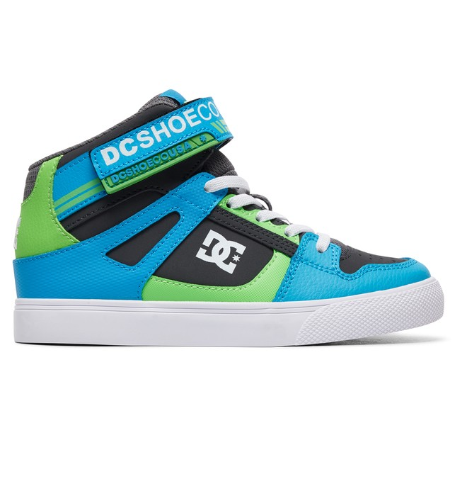 0 Boy's 8-16 Pure High EV High-Top Shoes Grey ADBS300324 DC Shoes