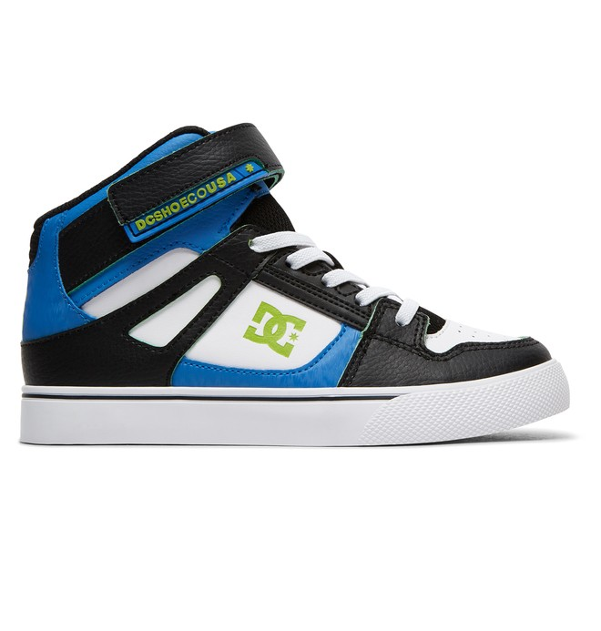 0 Pure HT SE EV - High-Top Elastic-Laced Shoes for Boys Blue ADBS300325 DC Shoes