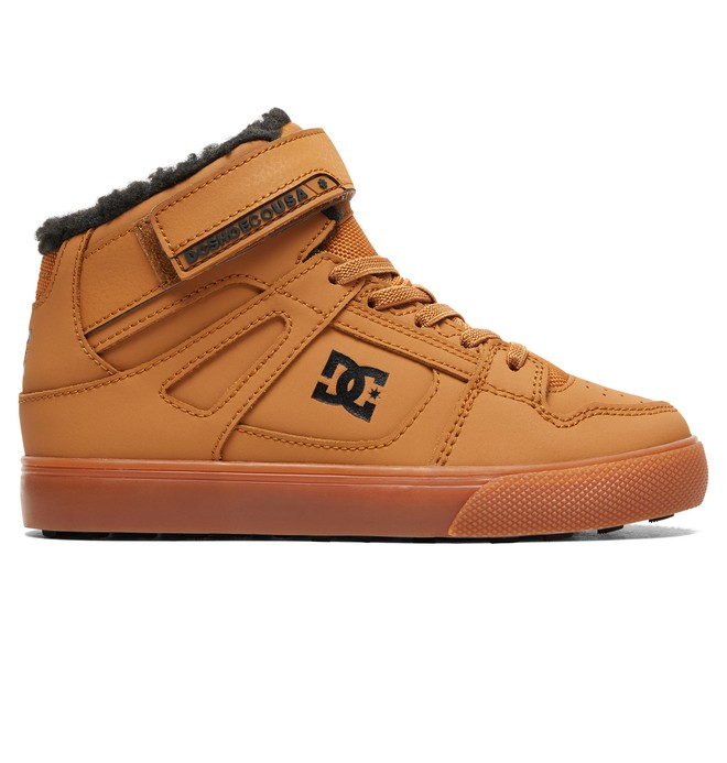 0 Boy's Pure WNT Winter High-Top Boots  ADBS300327 DC Shoes