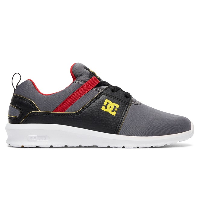 0 Heathrow SE - Shoes for Boys Grey ADBS700049 DC Shoes