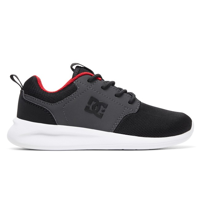 0 Boy's 8-16 Midway Shoes Black ADBS700059 DC Shoes