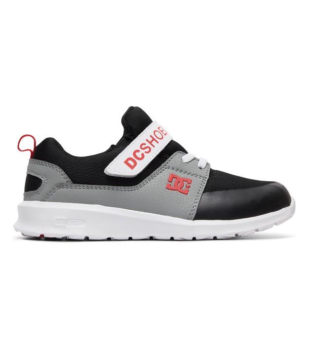 0 Boy's 8-16 Heathrow Prestige EV Shoes Black ADBS700064 DC Shoes
