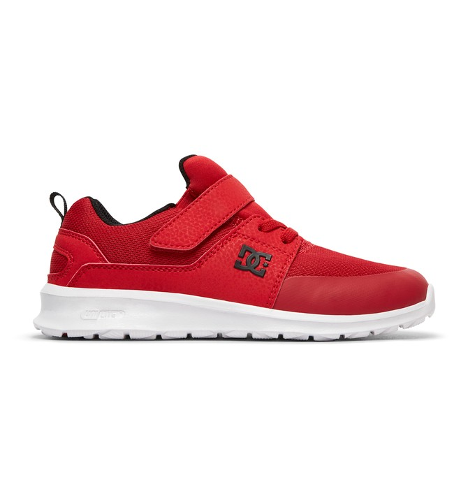 0 Heathrow Prestige EV - Zapatillas con Cordones Elásticos para Chicos Rojo ADBS700064 DC Shoes