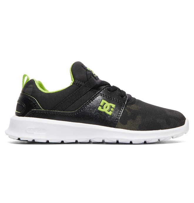 0 Heathrow TX SE - Zapatillas con Cordones Elásticos para Chicos Gris ADBS700066 DC Shoes
