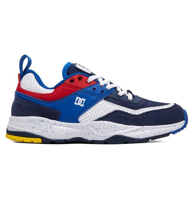0 Boy's 8-16 E.Tribeka SE Shoes Blue ADBS700076 DC Shoes