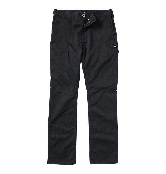 0 Boy's 8-16 DC Worker Pants Grey ADBWP00000 DC Shoes