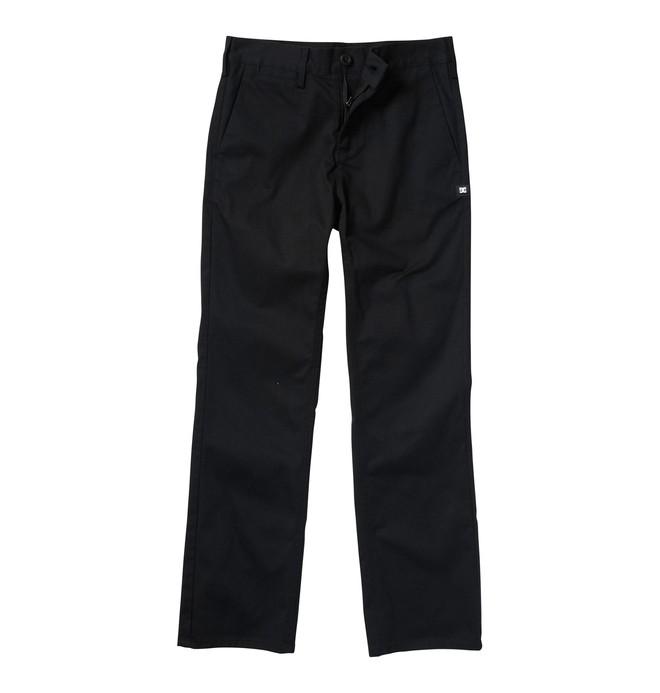 0 Boy's DC Worker Slim Fit Pants  ADBWP00001 DC Shoes