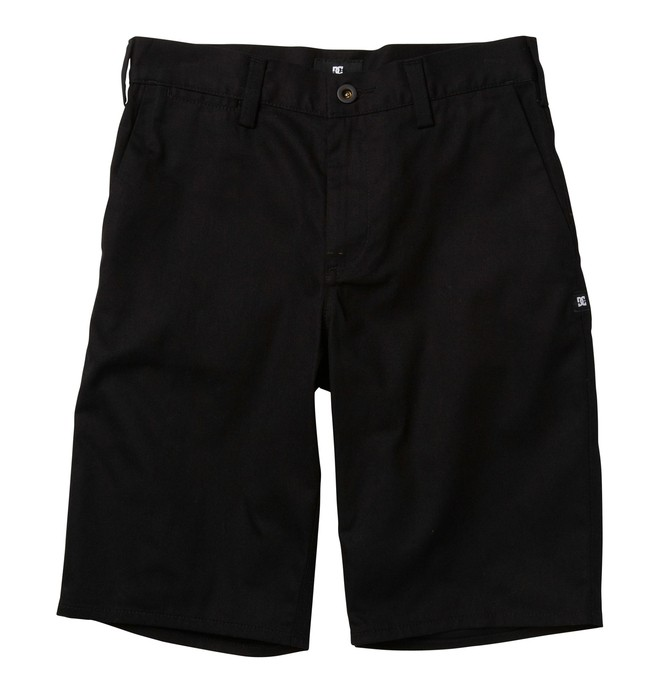 0 Boy's DC Worker Slim Fit Short  ADBWS00002 DC Shoes