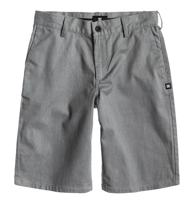 0 Boy's DC Worker Shorts Grey ADBWS00004 DC Shoes