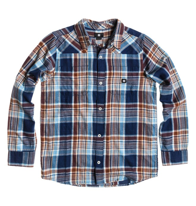 0 Boy's Ziprin Long Sleve Shirt  ADBWT00012 DC Shoes