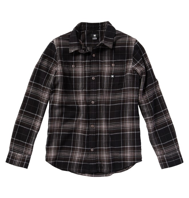 0 Boy's Kingsmen Shirt  ADBWT00019 DC Shoes