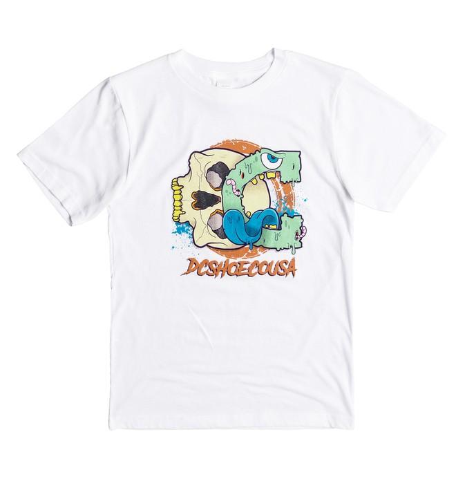0 Death Crunch - T-Shirt  ADBZT03074 DC Shoes