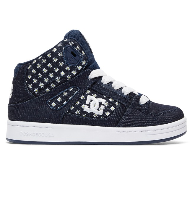 0 Rebound TX SE - Zapatillas de bota alta para Chicas Verde ADGS100071 DC Shoes