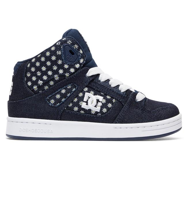 0 Kid's Rebound TX SE High Top Shoes  ADGS100071 DC Shoes