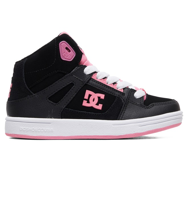 0 Pure - High-Top Shoes for Girls Black ADGS100081 DC Shoes