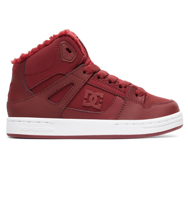 0 Girl's Pure WNT Winter High-Top Boots  ADGS100082 DC Shoes