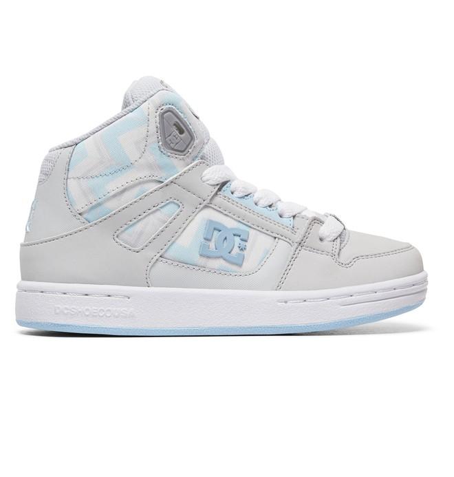 0 Girl's 8-16 Pure HT SP High-Top Shoes Blue ADGS100086 DC Shoes