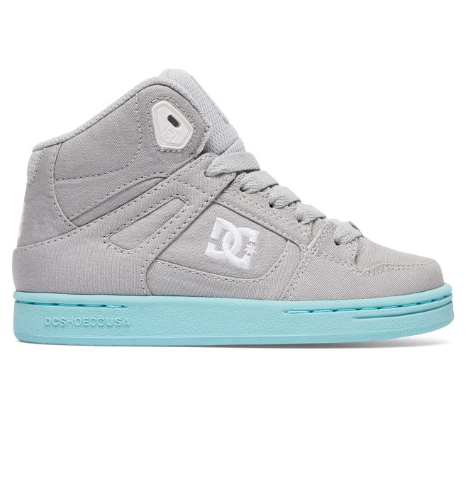 0 Kid's Rebound TX High Top Shoes  ADGS100216 DC Shoes
