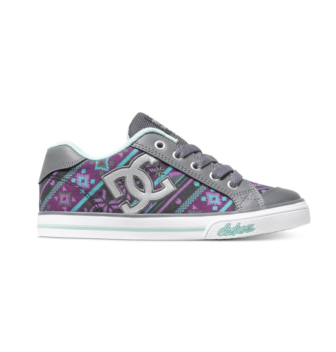 0 Girl's Chelsea Graffik Shoes  ADGS300001 DC Shoes