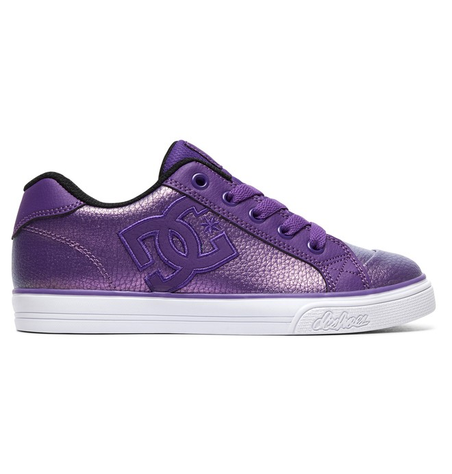 0 Girl's 8-16 Chelsea SE Shoes Purple ADGS300042 DC Shoes