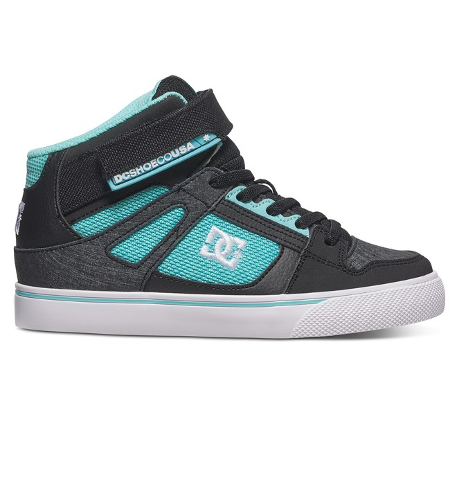 0 Girl's Spartan Hi EV High Top Shoes  ADGS300058 DC Shoes