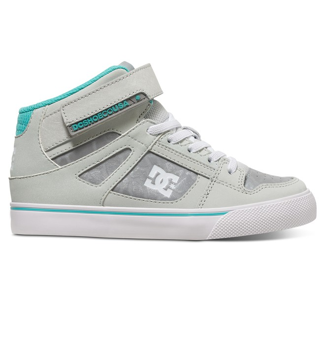 0 Girl's Spartan Hi SE EV High Top Shoes  ADGS300059 DC Shoes
