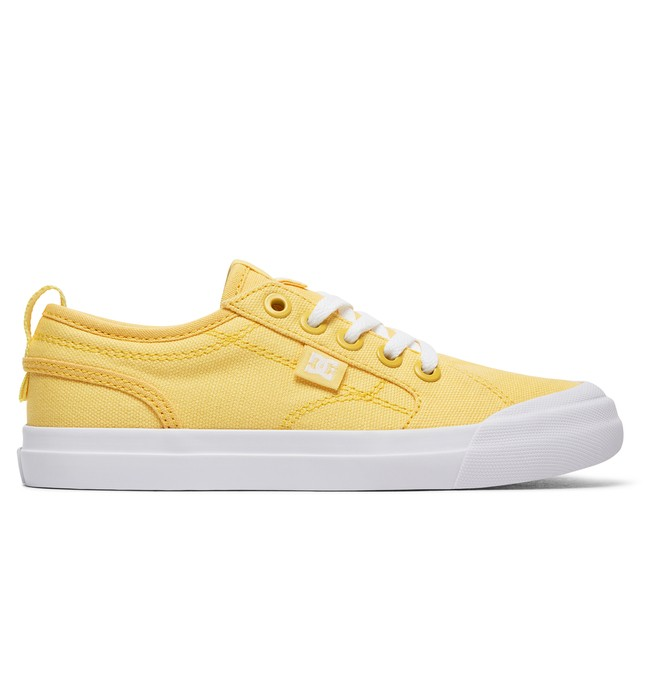 0 Kid's Evan TX Shoes Yellow ADGS300067 DC Shoes