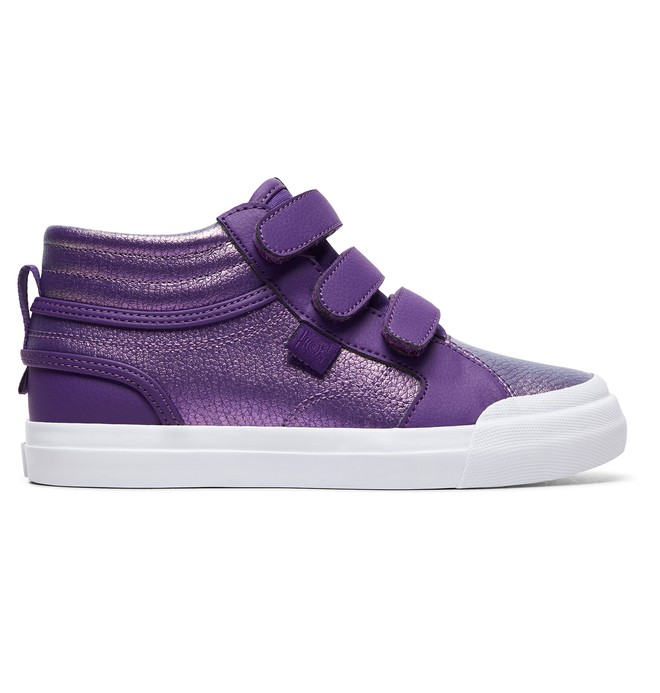 0 Girl's Evan Hi V SE High-Top Shoes  ADGS300081 DC Shoes