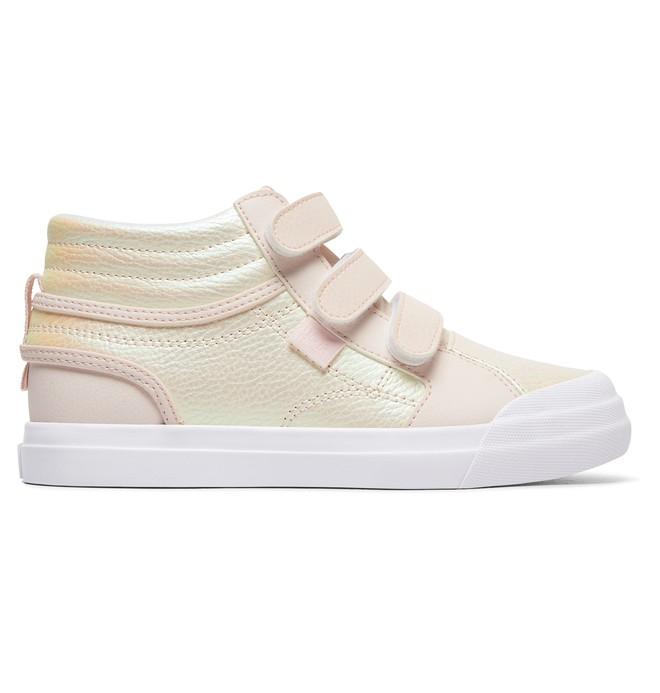 0 Girl's Evan Hi V SE High-Top Shoes Pink ADGS300081 DC Shoes