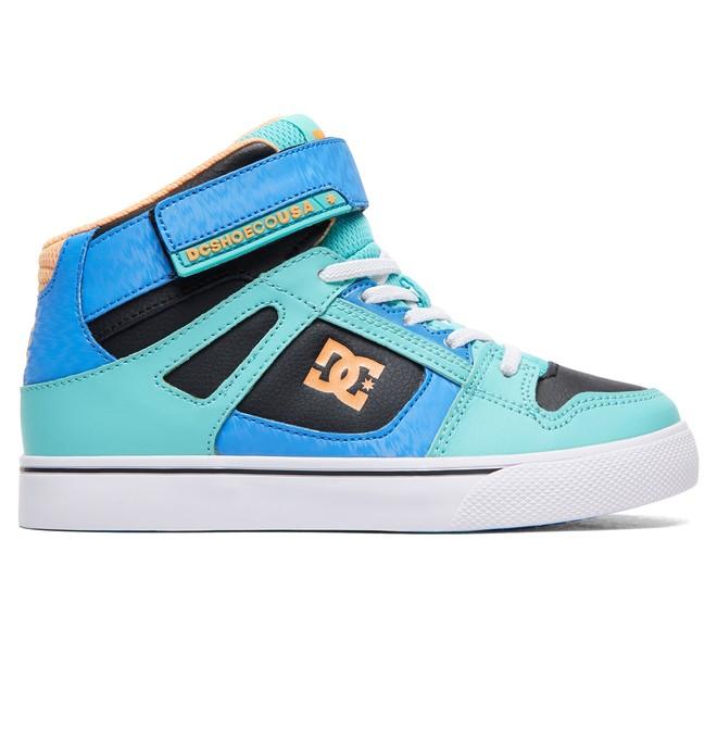 0 Niñas Zapatos de Parte Superior Alta Pure Naranja ADGS300092 DC Shoes