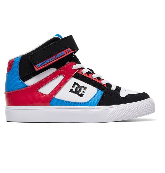 0 Girl's 8-16 Pure High EV High-Top Shoes Black ADGS300092 DC Shoes