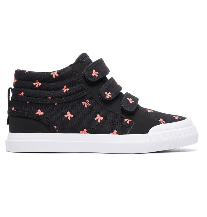 0 Evan Hi V - High-Top Shoes for Girls Black ADGS300096 DC Shoes